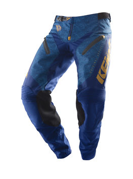 Pantalon cross Kenny 2019 Titanium - Bleu Or