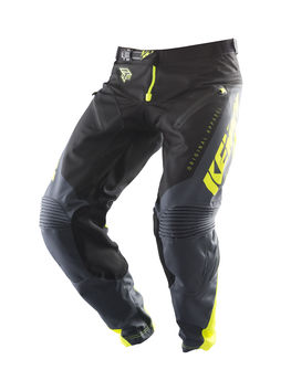 Pantalon cross Kenny 2019 Titanium - Jaune Fluo