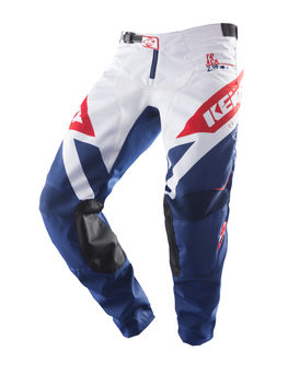 Pantalon cross Kenny 2019 Track - Bleu Rouge