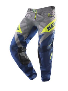Pantalon cross Kenny 2019 Track - Bleu Lime