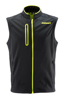 Body Warmer Enduro Kenny 2019 - Noir Jaune Fluo