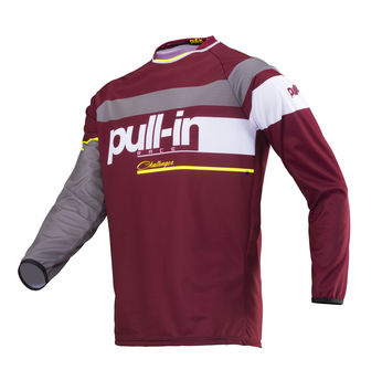 Maillot cross Pull-In by Kenny 2019 Challenger Race - Burgundy Rouge