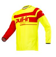 Maillot cross Pull-In by Kenny 2019 Challenger Race - Jaune Fluo Rouge XL