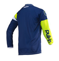 Maillot cross enfant Pull-In by Kenny 2019 Challenger Race - Bleu Lime