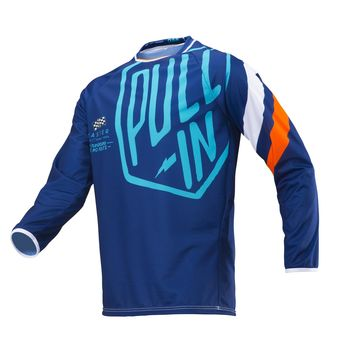 Maillot cross enfant Pull-In by Kenny 2019 Challenger Master - Bleu Orange