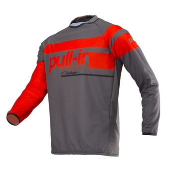 Maillot cross enfant Pull-In by Kenny 2019 Challenger Race - Gris Orange