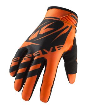 Gants cross enfant Kenny 2019 Brave - Orange Fluo 05 - 10/12 ans