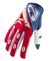 Gants cross Kenny 2019 Titanium - Bleu Rouge