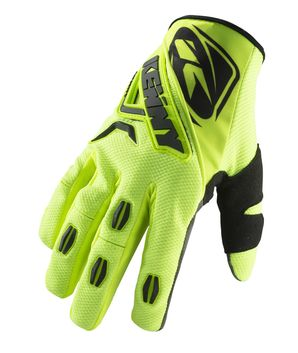 Gants cross Kenny 2019 Titanium - Jaune Fluo