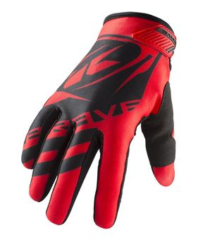 Gants cross Kenny 2019 Brave - Rouge