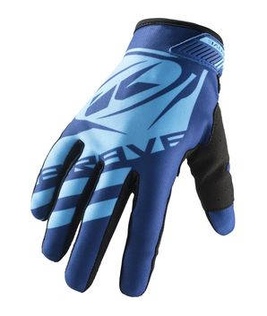 Gants cross Kenny 2019 Brave - Bleu