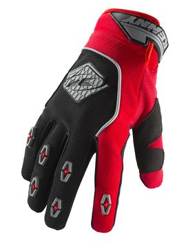 Gants cross Kenny 2019 Safety - Rouge