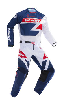 Tenue cross enfant Kenny 2019 Track - Bleu Rouge