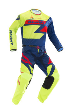 Tenue cross enfant Kenny 2019 Track - Lime Bleu Rouge