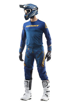Tenue cross Kenny 2019 Titanium - Bleu Or