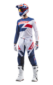 Tenue cross Kenny 2019 Track - Bleu Rouge