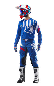Tenue cross Pull-In by Kenny 2019 Challenger Master - Bleu
