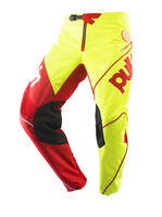 Pantalon cross Pull-In by Kenny 2019 Challenger Race - Jaune Fluo Rouge