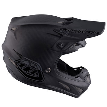 Casque cross Troy Lee Designs SE4 Carbon Midnight - Noir