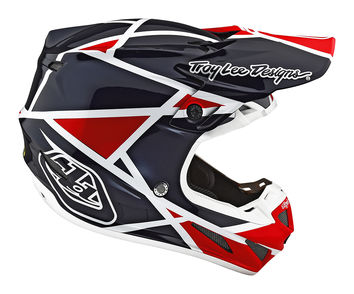Casque Cross Troy Lee Designs 2019 191 Se4 Composite Metric Ocean