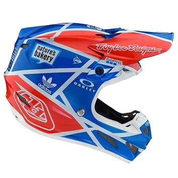 Casque cross Troy Lee Designs 2019 19.1 SE4 Composite Metric - Ocean