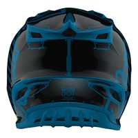 Casque cross Troy Lee Designs 2019 19.1 SE4 Polyacrylite Factory - Ocean 55/56 - S