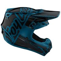 Casque cross enfant Troy Lee Designs SE4 Polyacrylite Factory - Ocean 50/51 - M