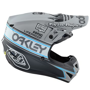 Casque cross enfant Troy Lee Designs 2019 19.1 SE4 Polyacrylite Team Edition 2 - Gris