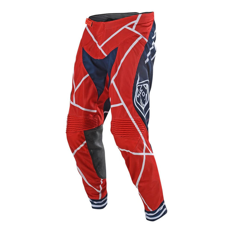 pantalon cross troy lee designs 2019 19 1 se air metric rouge bleu 3as racing. Black Bedroom Furniture Sets. Home Design Ideas