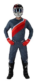 Tenue cross Troy Lee Designs 2019 19.1 GP Prisma 2 - Gris