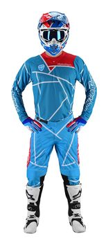 Tenue cross Troy Lee Designs 2019 19.1 SE Air Metric - Ocean