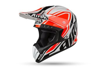 Casque cross Airoh 2019 Switch Impact - Orange