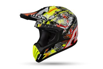 Casque cross Airoh 2019 Switch Pirate