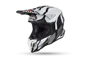 Casque cross Airoh 2019 Twist Great - Gris