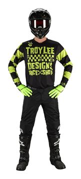 Tenue cross enfant Troy Lee Designs 2019 19.1 Race shop 5000 - Lime