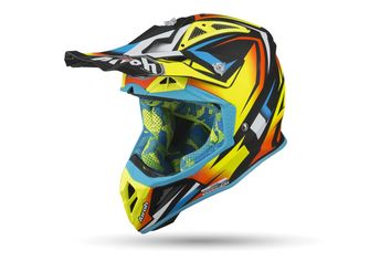 Casque cross Airoh 2019 Aviator 2.3 Fame - Jaune