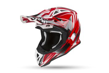 Casque cross Airoh 2019 Aviator 2.3 Fame - Rouge