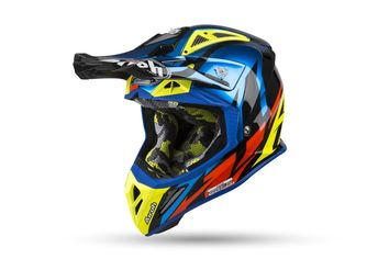 Casque cross Airoh 2019 Aviator 2.3 Great - Bleu 53/54 - XS