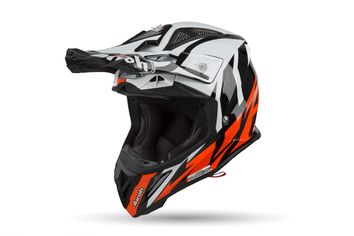 Casque cross Airoh 2019 Aviator 2.3 Great - Orange