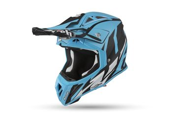 Casque cross Airoh 2019 Aviator 2.3 Great - Bleu Azur
