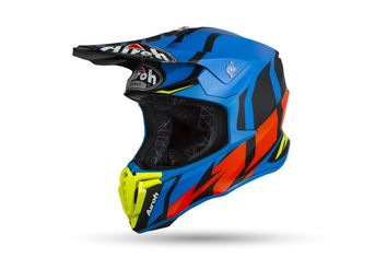 Casque cross Airoh 2019 Twist Great - Bleu Mat