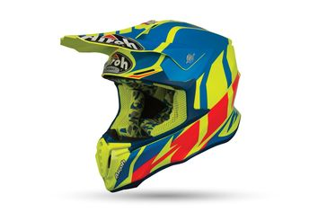 Casque cross Airoh 2019 Twist Great - Bleu Azur