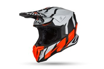 Casque cross Airoh 2019 Twist Great - Orange Mat