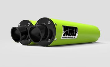 Double silencieux HMF Performance-Series Vert Venom Can Am Maverick Turbo 2015-2018