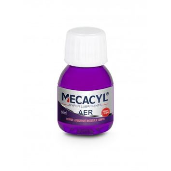 Additif hyper lubrifiant MECACYL AER carburant moteur 2T 60ml