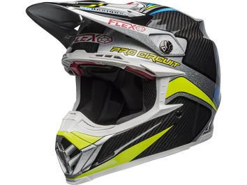 Casque cross Bell Moto-9 Flex Pro Circuit Replica - Noir Vert