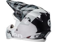 Casque cross Bell Moto-9 Flex Seven Zone - Noir Chrome 54/55 - XS