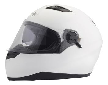Casque intégral route Stormer Pusher Uni - Blanc