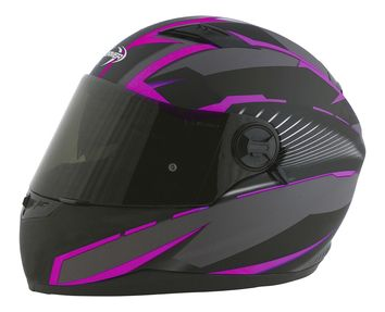Casque intégral route Stormer Pusher Xenon - Rose Mat