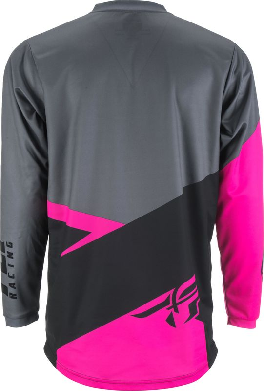 909f25def68 Accueil · Maillot cross Fly Racing 2019 F-16 - Neon Rose Noir Gris.  Accueil. -5%